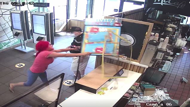 Finger Pointing Escalates Into Trashing Of McDonald's